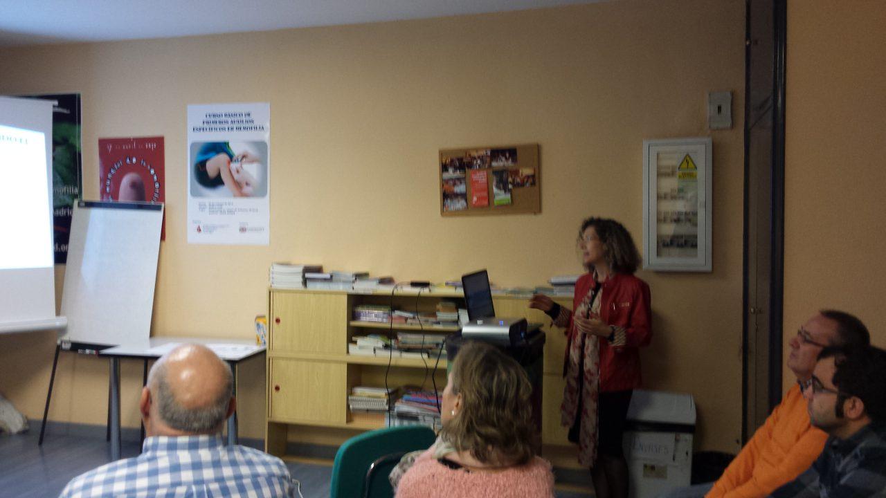 La Dra. Marisa Montes explica los últimos datos estadísticos en relacion a la Hepatits C.